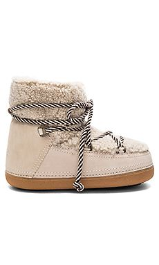 Curly Boot with Lamb Shearling