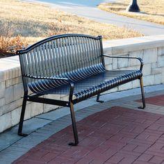 "$1,129  72"", Found+it+at+Wayfair+-+Rockford+Steel+Park+Bench"