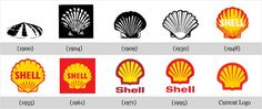 Back in 1900, when the company was started the logo was a realistic and simple shell which lies flat on the ground. This was a pectin or scallop shell, but today the company has a #logo which is bold, colorful and much more simplistic.