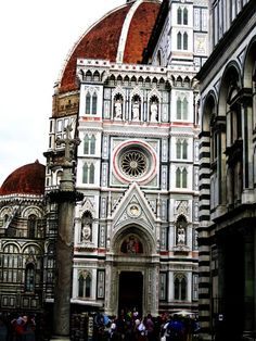 Florence, Italy coolest building I've ever seen