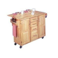 Kitchen Cart In Natural Wood