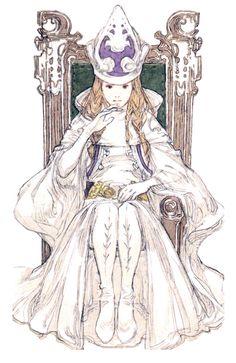Tarot Card II - The High Priestess - Tactics Ogre