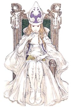 Tarot Card II - The High Priestess - Tactics Ogre
