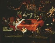painting of hell hieronymus bosch - Google Search