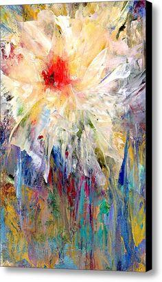 Gradiflora Abstract Study Canvas Print / Canvas Art By Alexis Bonavitacola