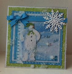 angel4031 Snowman & Snowdog CD ROM from Crafter's Companion