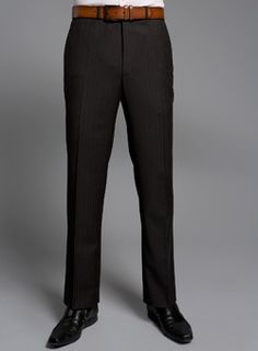 Burton Brown Twill Performance Suit Trousers Regular fit brown stripe twill suit trousers with adjustable waistband. 54% Polyester,44% Wool,2% Lycra/Elastane. Machine washable.Suits: Only available in selected stores. http://www.comparestoreprices.co.uk/mens-trousers/burton-brown-twill-performance-suit-trousers.asp