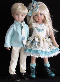 """Made for girleffner little darling 13"""" dolls. Boy effner set is in a seperate listing!! Below is a picture of the matching set for a boyeffner little darling in aseperatelisting."""