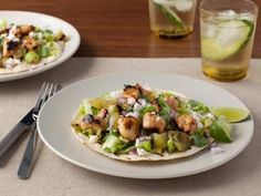 Tacos, enchiladas, burritos and other Mexican favorites can all be part of a healthy diet. Get the recipes from Food Network.