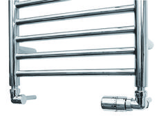 The JIS Sussex Streamline thermostatic radiator valve is perfect to use when you are connecting a towel rail and you have chosen to have your pipework coming from the wall (angled valves). Prices from inclusive of VAT and delivery. Radiator Valves, Towel Rail, Inline, Satin Finish, Radiators, Chrome, Corner, Wall, Pattern
