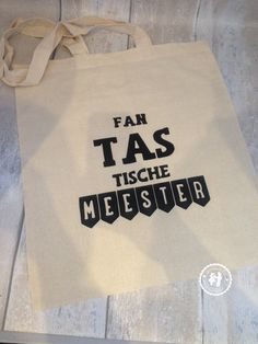 Tas voor Meester/juf | Mennekes en Dennekes