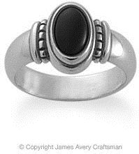 #jamesavery.com           #ring                     #Beaded #Onyx #Ring #from #James #Avery             Beaded Onyx Ring from James Avery                                             http://www.seapai.com/product.aspx?PID=1090455