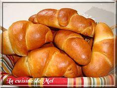 Croissants brioché