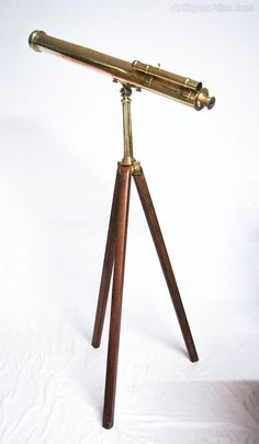 Antiques Atlas - Victorian Astronomical Telescope By Watson & Sons