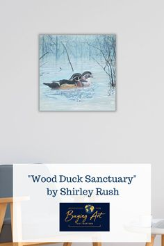 Shirley Rush painted this realistic pair of ducks later in her  life and it is now for sale on Buying Art That Matters website. One of  our missions is to help children sell their parent's art so that their  gifts can be shared with others. We want to help aging artists and their  children leave a legacy, not a mess!Half the proceeds from out website  go to fund Christian Mission projects across the globe. #artforsale #realisticart #natureart #birdart #artwithmeaning Realistic Paintings, Acrylic Paintings, Art Paintings, Original Artwork, Original Paintings, Art With Meaning, Mission Projects, Modern Portraits, Realism Art