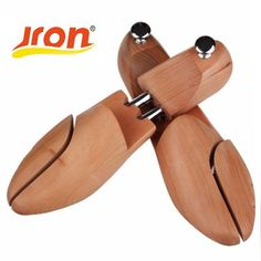 [Visit to Buy] Wood Wooden 2-Way Shoe Shoes Tree women and man shoes tree Stretchers Size Wholesale  #Advertisement
