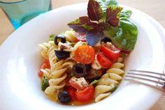 Recetas para adelgazar: Ensalada de Pasta Mediterráneo