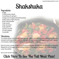 Shakshuka - part of my PiYo Menu Planner!