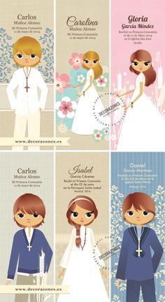 Decorazones.es _ Adaptaciones de nuestros diseños sobre marca libros de Primera…                                                                                                                                                                                 Más