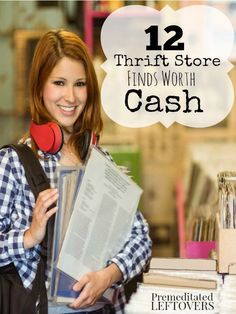 12 Thrift Store Items Worth Cash- Many thrift stores have gold mines on their shelves just waiting to be found. Keep an eye out for these 12 valuable items. At Laura's House Resale Store - we see these come in all the time! Thrift Store Shopping, Thrift Store Crafts, Thrift Store Finds, Shopping Hacks, Thrift Stores, Resale Store, Store Hacks, Ways To Save Money, Money Tips