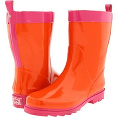 Dirty Laundry -by Rodwell Rubber LOVE This color combo for rain boots (: