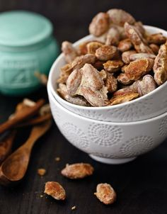"""Double CLICK PIC for Recipe.... ...""""Low Carb"""" Five-Spice Candied Almonds...  ...Recipe by George Stella... ...For tons more Low Carb recipes visit us at """"Low Carbing Among Friends"""" on Facebook"""