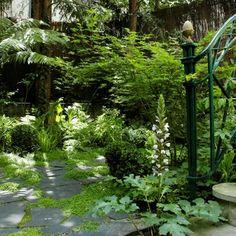 aménagement paysager d'un jardin contemplatif à Paris