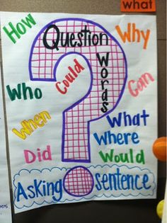 Adventures of First Grade: Asking Questions!