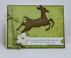 Deer card.