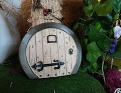 """5"""" Garden Door For Fairy Garden or Dollhouse"""