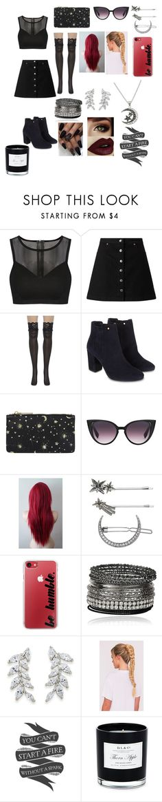 """""""Like A Flower Have Being Stepped On, She Will Always Grow Back"""" by sweetheart-the-moonbear ❤ liked on Polyvore featuring Miss Selfridge, Monsoon, Accessorize, Simply Vera, Casetify, Carolee, Native State and D.L. & Co."""