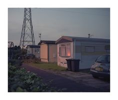 End of trailer park scene Kissing Eyes Magazine American Gothic, Southern Gothic, Night Vale, Film Photography, Small Towns, The Neighbourhood, Scenery, Exterior, Alaska