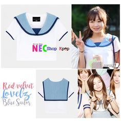 [RED VELVET STYLE] RED VELVET LOVELYZ BLUE SAILOR | NEC Shop Kpop ! FOR ORDER Line : eliansy/nelyaulia LINE@:jpz0431x(use@) whatsapp/sms : 08986516925/08996524425 BBM : 5439DDBD Facebook/page : nec shop kpop  PAYMENT : MANDIRI/BNI/WESEL POS/WESTERN UNION SHIPPING PRODUCT BY JNE/POS INDONESIA/EMS Happy Shopping Kak 🇲🇨🇰🇷 we can shipping world wide ✈️ #necshopkpop #kpop #kpopstyle