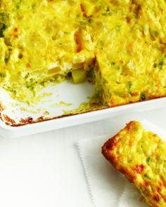 Baked Leek, Potato, and Parmesan Frittata | Whole Living