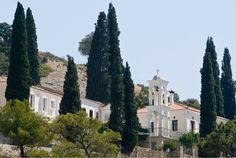 Spyliani monastery Beautiful People, Beautiful Places, Most Beautiful, Samos, Greece Islands, Amazing Nature, House Styles, Travel, Beauty