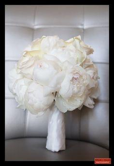 Boston Wedding Photography, Boston Event Photography, White Bridal Bouquet, Peonies Bouquet, Wedding Flowers, White Wedding Bouquet