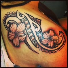 Tattoo- Tribal-Flower