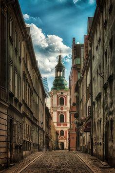Poznań, Klasztorna street by Jacek Gadomski, via 500px Poland