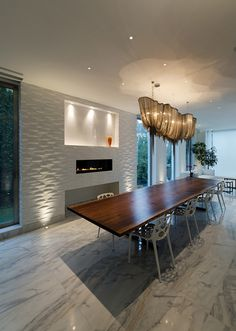 LED Lighting Idea For Kitchens And Dining Rooms