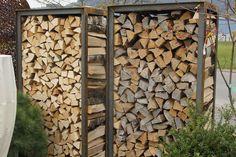 Bild von Holzlager B - mit Blech oben Firewood Storage, Provence, Crafts, House, Fire Wood, Gardening, Diy Stuff, Google, Kindergarten