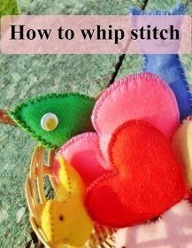 Sewing With Kids: How to Sew a Whip Stitch