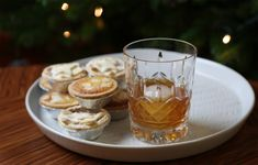 A mince pie syrup makes this old fashioned the perfect pre-Christmas nightcap.