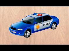 Машинки мультики Полицейская машинка. Скорая помощь и другие машинки. Мультик пазл. - YouTube