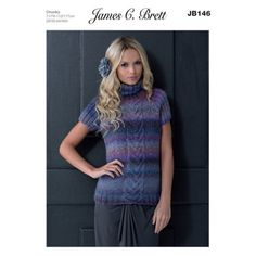 Sweater in James C. Brett Passion Chunky - JB146