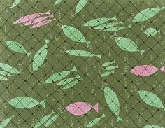 Elza Sunderland, Textile Design, 'Full Net' | LACMA Collections