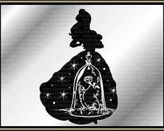 Mickey head, Disney couple SVG DXF Png Layered Cut File Cricut Designs Silhouette Cameo, Vinyl Decal Heat Transfer Iron on Deco Disney, Disney Diy, Disney Crafts, Princess Silhouette, Silhouette Art, Silhouette Projects, Kirigami, Disney Font Free, Disney Fonts