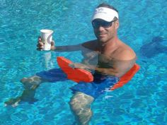 Swimming Pool Floats from LazyBunz, The Grommet