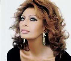 Sophia Loren.....hum might have to cut my hair