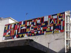 painel do artista Torres Garcia - Ciudade Vieja - Montevideo