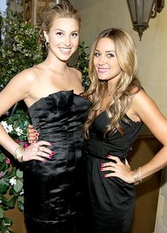lauren conrad and whitney port | Lauren Conrad a no show at Whitney Port's NYC fashion show ...